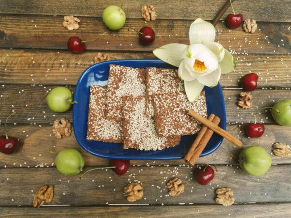 Թխվածքաբլիթ խնձորով և դարչնով